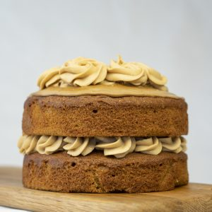 bizzibeans coffee and walnut cake