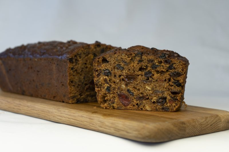 bizzibeans boiled fruit cake bar