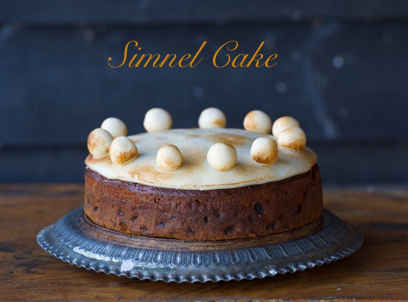 Bizzibeans Simnel cake for Easter